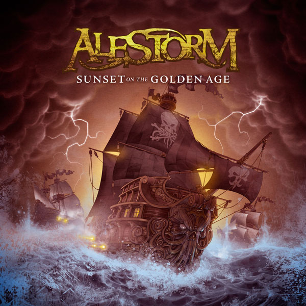 Alestorm - Sunset on the Golden Age